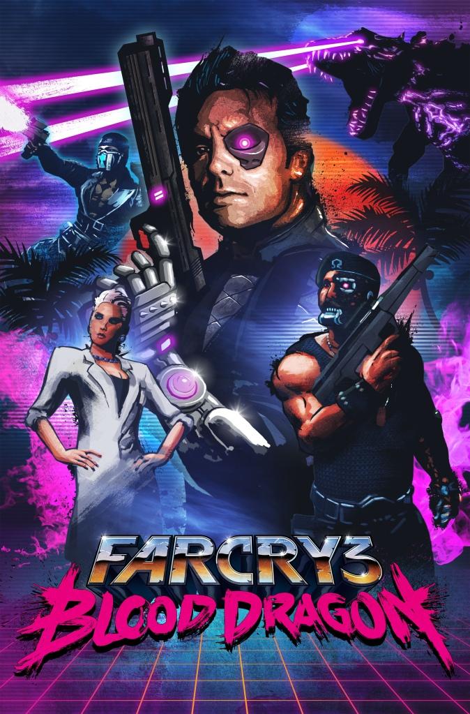 1365711690 Far Cry 3 Blood Dragon Key Art Logic Is My Virgin Sacrifice To Reality