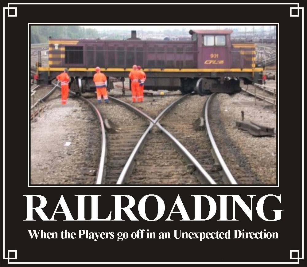 Railroading - When the Players go off in an Unexpected Direction